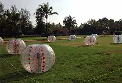 outdoor team building goa
